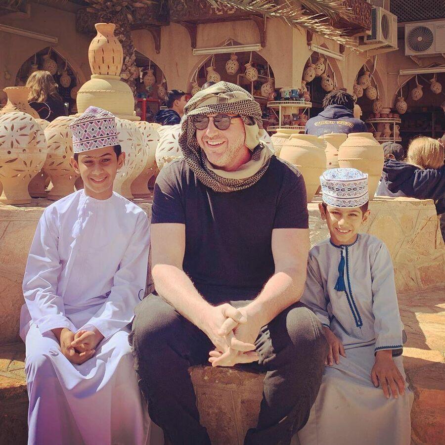 В Омане
