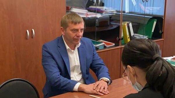 Мэр города Бодайбо Евгений Юмашев