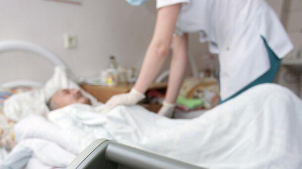 В пульмонологическом отделении больницы