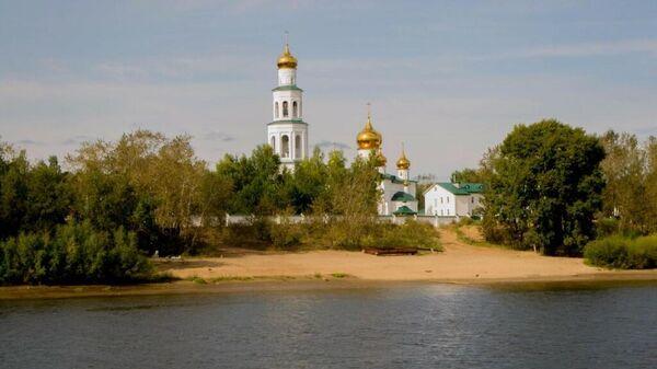 Богоявленский Мужской монастырь в Верхней Курье