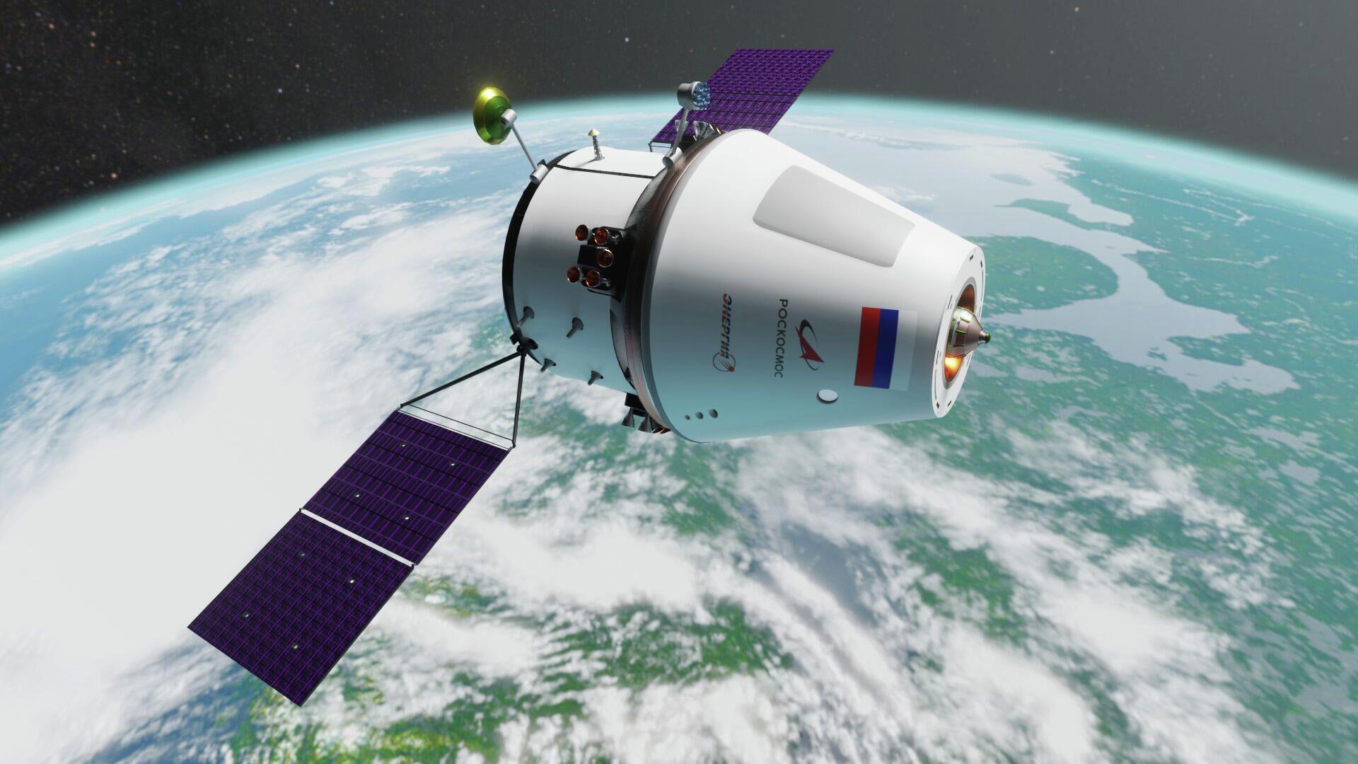 Космический корабль Орел - РИА Новости, 1920, 19.12.2020