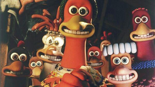 Кадр из мультфильма Побег из курятника