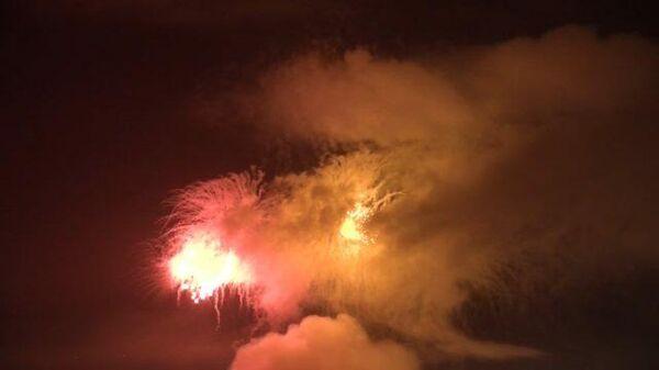 На Сахалине был дан салют в честь 75-летия Победы