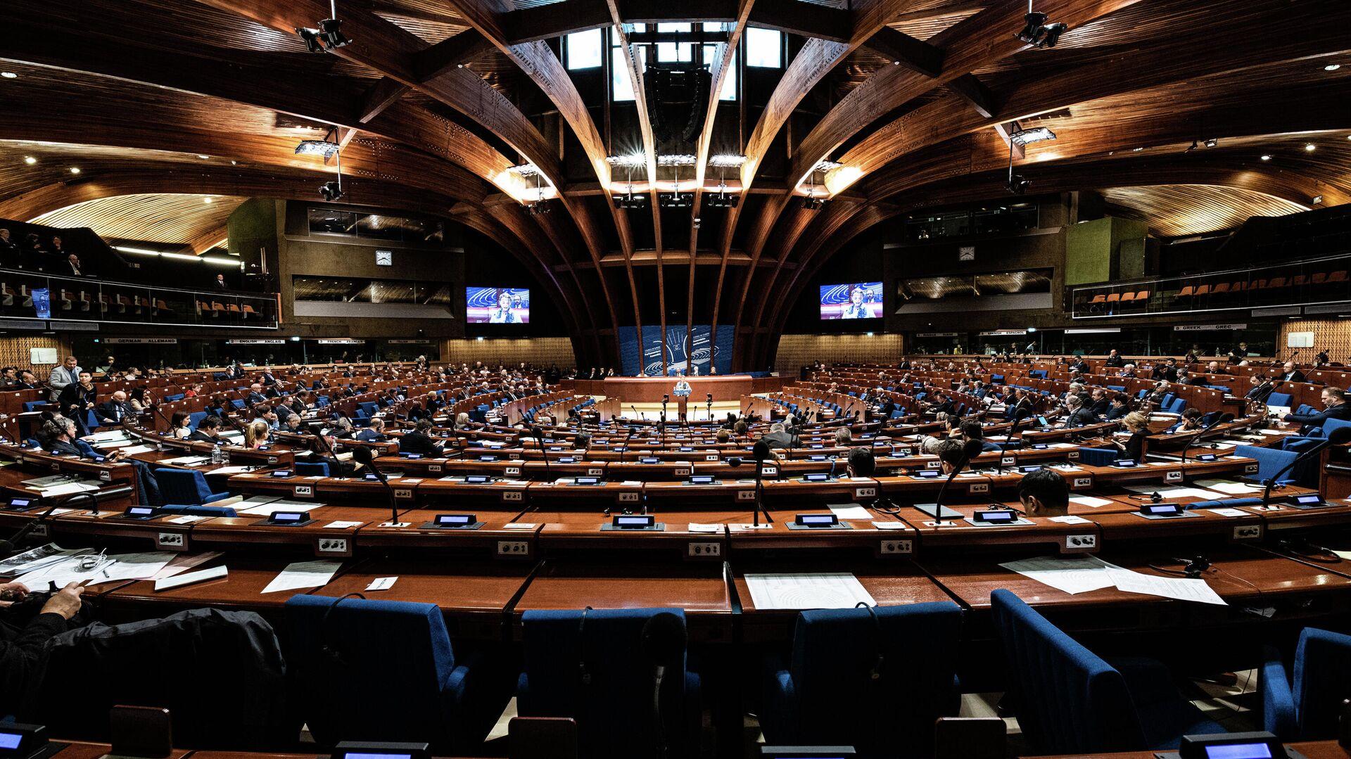 Зал Парламентской ассамблеи Совета Европы - РИА Новости, 1920, 19.01.2021