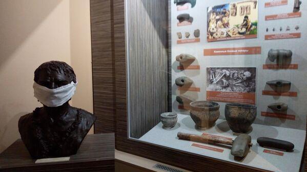 Экспозиция Краеведческого музея в Курске