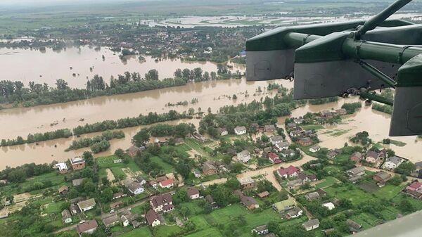 Наводнение в Ивано-Франковской области Украины