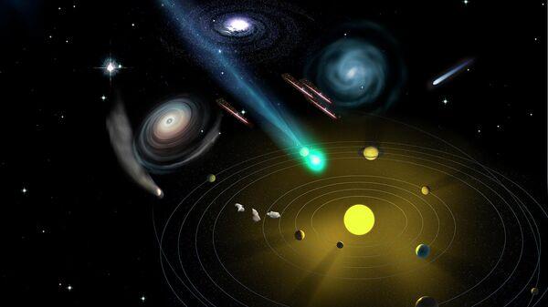 Межзвездные метеороиды