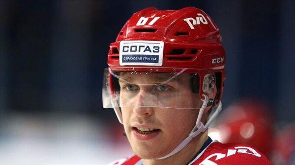 Хоккеист Максим Афанасьев