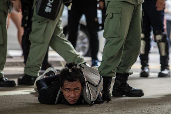 Протесты в связи с принятием закона о национальной безопасности в Гонконге