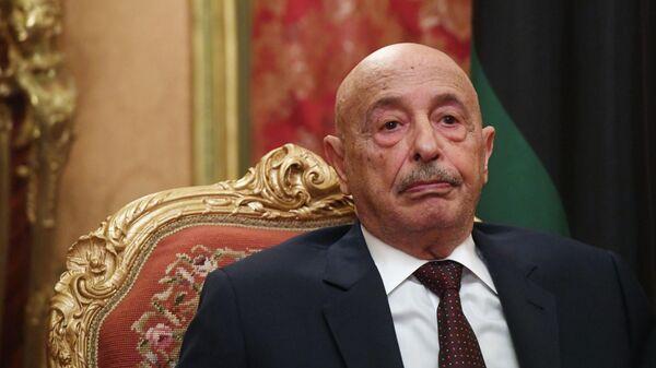 Председатель парламента Ливии Акила Салех