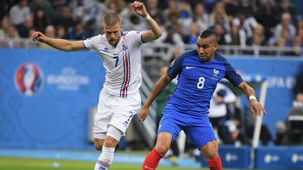 Футбол. Чемпионат Европы - 2016. Матч Франция - Исландия
