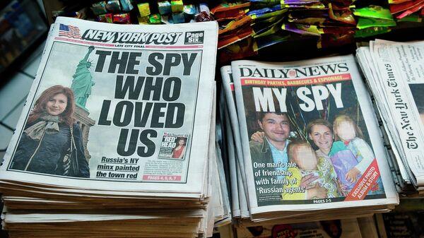 Нью-Йоркские газеты с материалами про Анну Чапмен и Ричарда и Синтии Мерфи