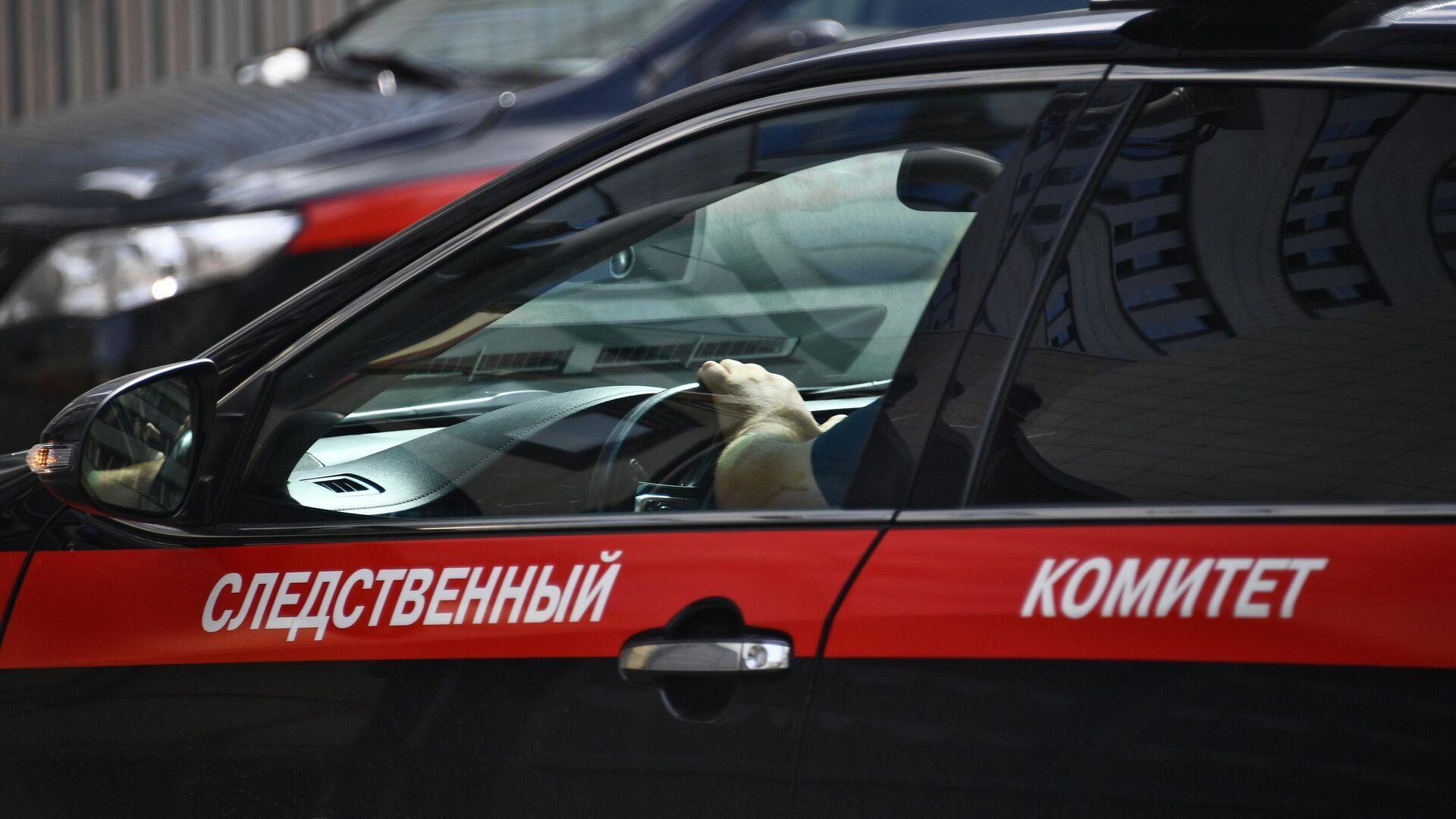 Автомобиль Следственного комитета РФ - РИА Новости, 1920, 25.01.2021