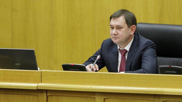 Председатель заксобрания Воронежской областной думы  Владимир Нетесов