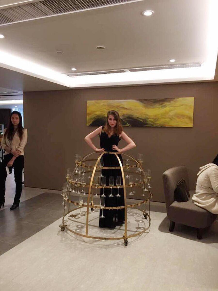 Промоушен-модель в Китае