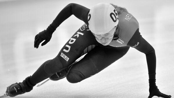 Чемпионка мира и бронзовый призер Олимпийских игр-2018 по шорт-треку Лара ван Рёйвен