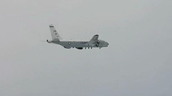 Самолет-разведчик ВВС США RC-135
