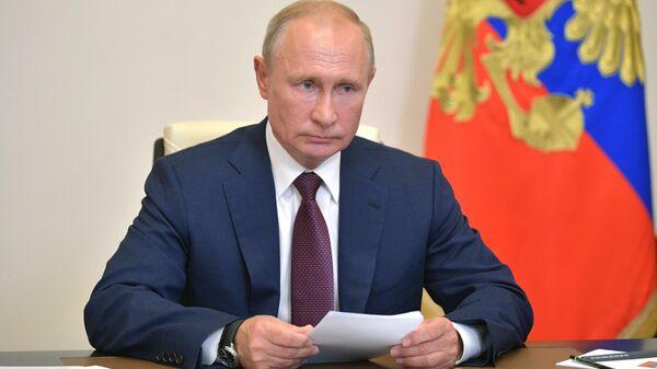 LIVE: Путин проводит встречу по стратегическому развитию и нацпроектам