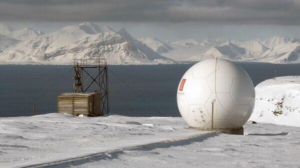 Центр спутникового мониторинга на Шпицбергене