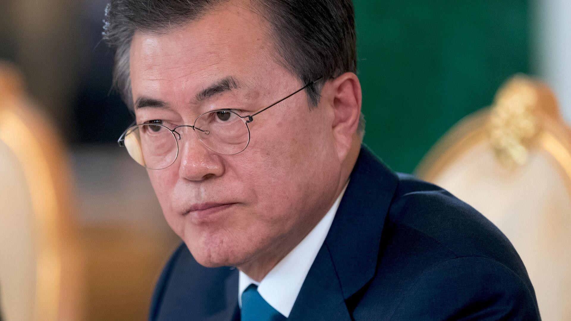 Президент Республики Корея Мун Чжэ Ин - РИА Новости, 1920, 20.07.2021
