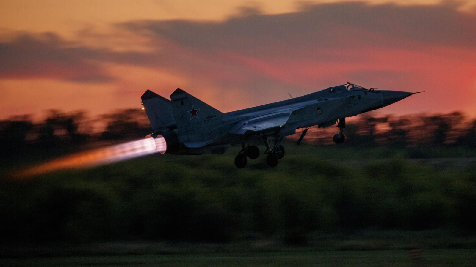 Обои ввс, миг-31, перехватчик, россии, истребитель, Самолёт. Авиация foto 11