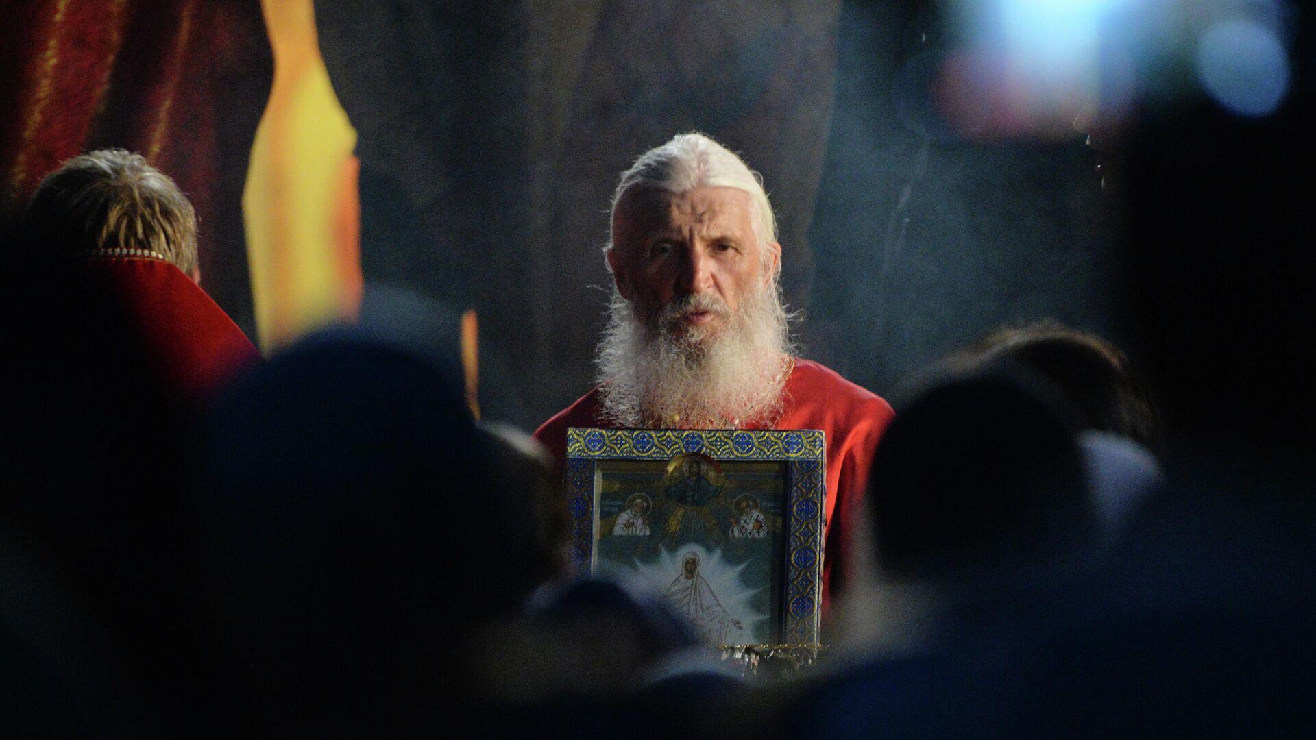 Источник сообщил о задержании бывшего схимонаха Сергия