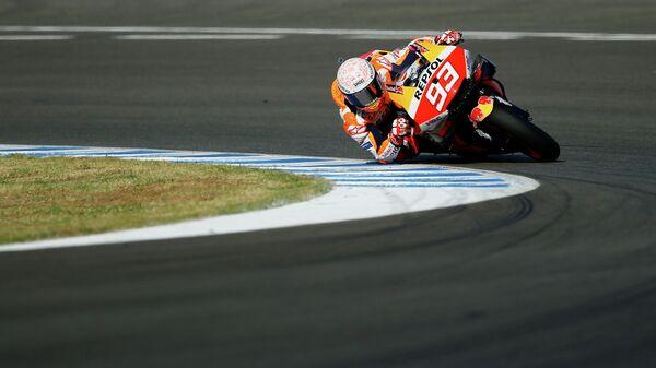 Шестикратный победитель чемпионата мира по шоссейно-кольцевым мотогонкам в классе MotoGP испанец Марк Маркес