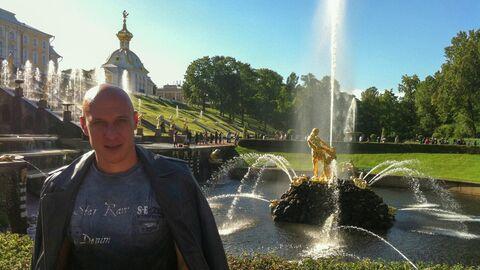 Денис Майданов в Петергофе