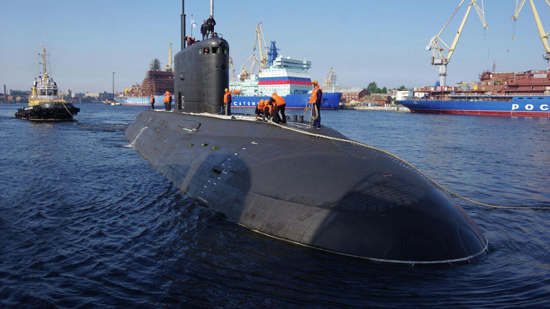Большая дизель-электрическая подводная лодка Волхов - РИА Новости, 1920, 26.10.2020