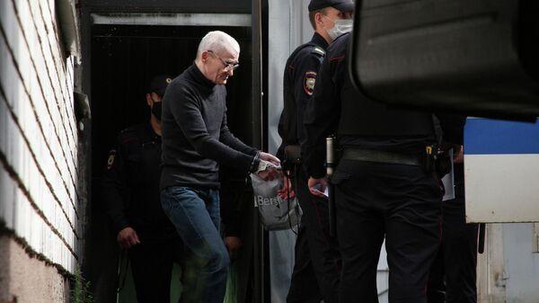 Юрий Дмитриев после заседания суда в Петрозаводске. 22 июля 2020