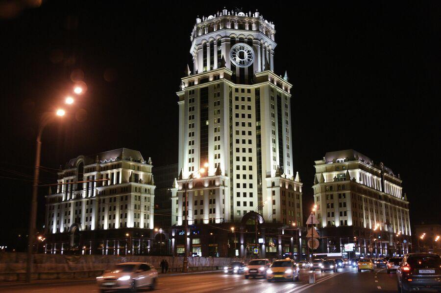 Бизнес-центр Павелецкая Плаза в Москве