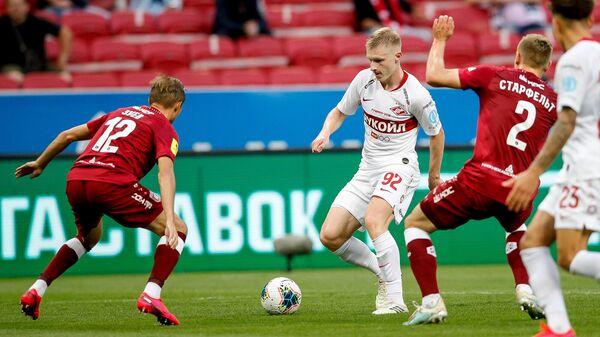 Спартак — Рубин в матче РПЛ