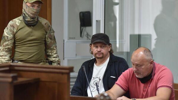 Обвиняемый в захвате заложников в Луцке Максим Кривош в Луцком районном суде