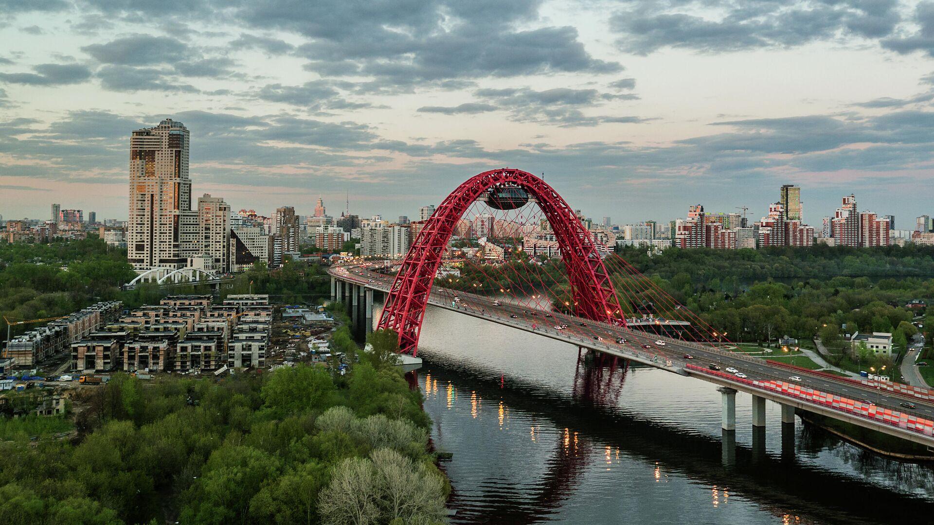 Живописный мост через Москву-реку. - РИА Новости, 1920, 03.02.2021