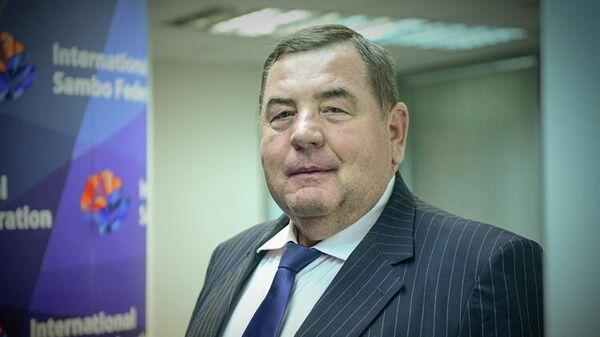 Президент Международной федерации самбо (FIAS) Василий Шестаков