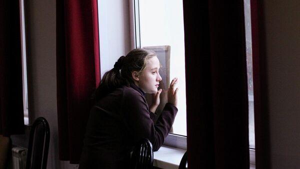 Ученица центра социальной реабилитации