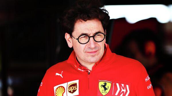 Руководитель команды Формулы-1 Феррари Маттиа Бинотто