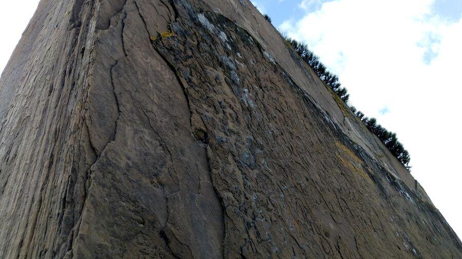 Петроглифы на мегалите Большого Салбыкского кургана