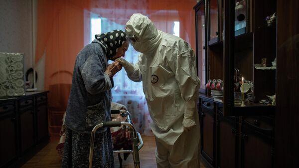 Работа фотожурналиста МИА Россия сегодня Ильи Питалева из цикла Москва времен коронавируса