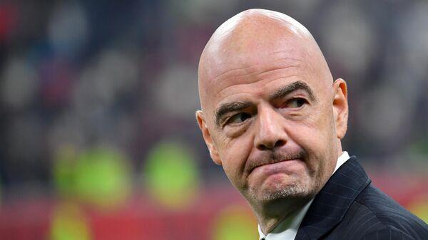 Глава Международной федерации футбола (ФИФА) Джанни Инфантино