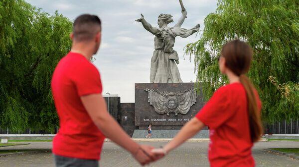 Участники международного проекта Маяки дружбы в Волгограде