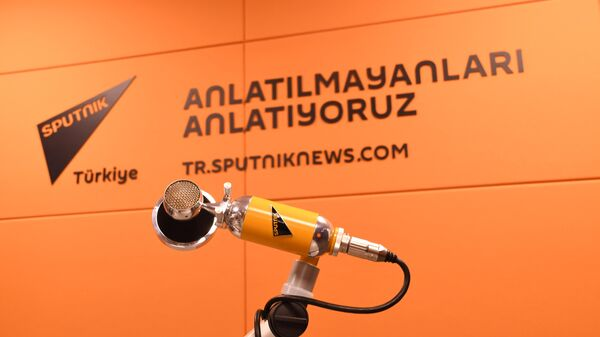 Студия в офисе Sputnik в Стамбуле