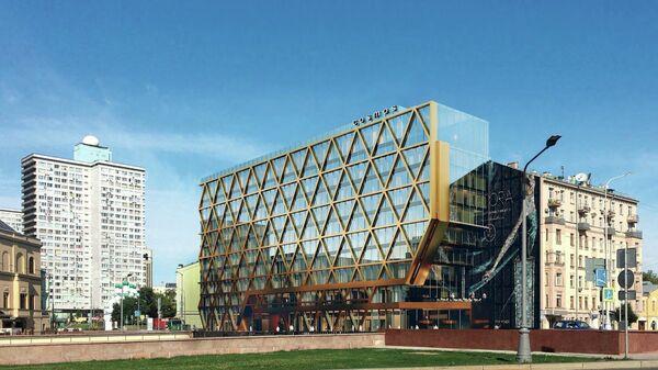 Проект отеля на Новом Арбате в Москве