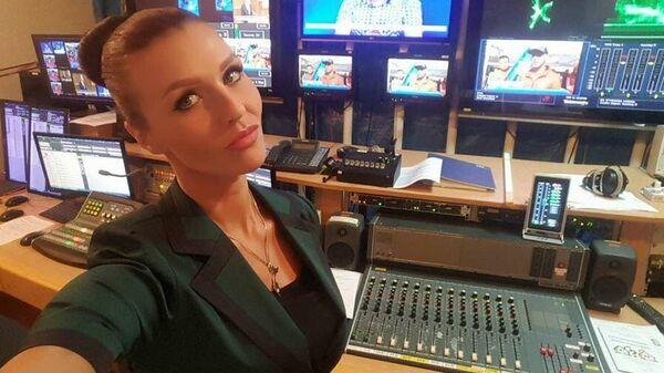 Журналистка ГТРК Камчатка Александра Новикова