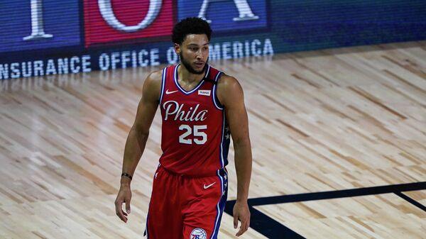 Разыгрывающий клуба НБА Филадельфия Бен Симмонс