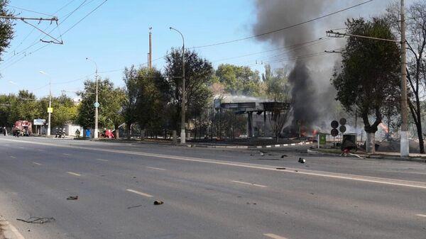 Взрыв газа на АЗС в Волгограде