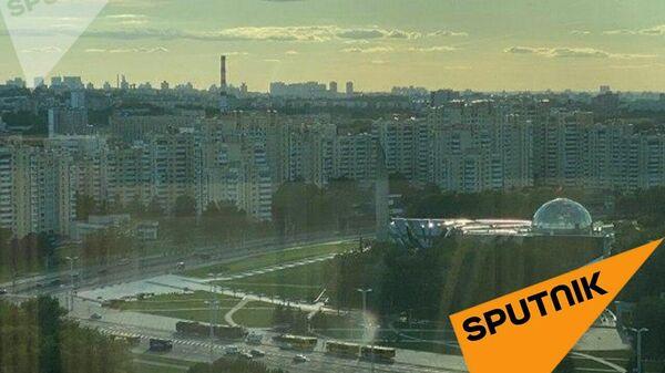Спецтехника и силовики в центре Минска. 11 августа 2020