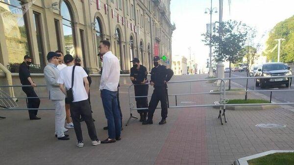 Ситуация в Минске вечером 11 августа