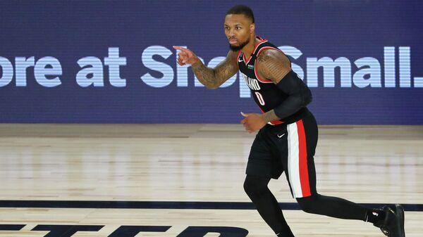 Разыгрывающий клуба НБА Портленда Дамиан Лиллард