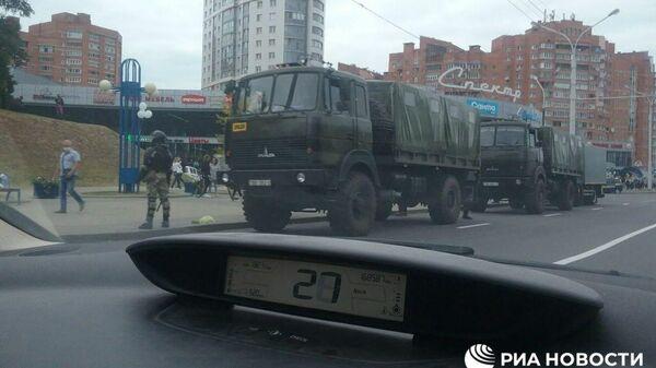 Ситуация у метро Уручье стянут спецназ в Минске